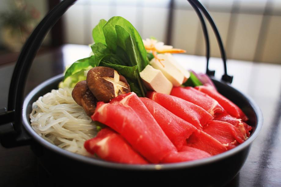 Calor Oriental: Sukiyaki