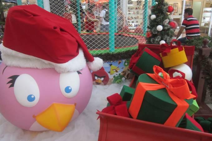 Decoração de Natal Shopping Mooca