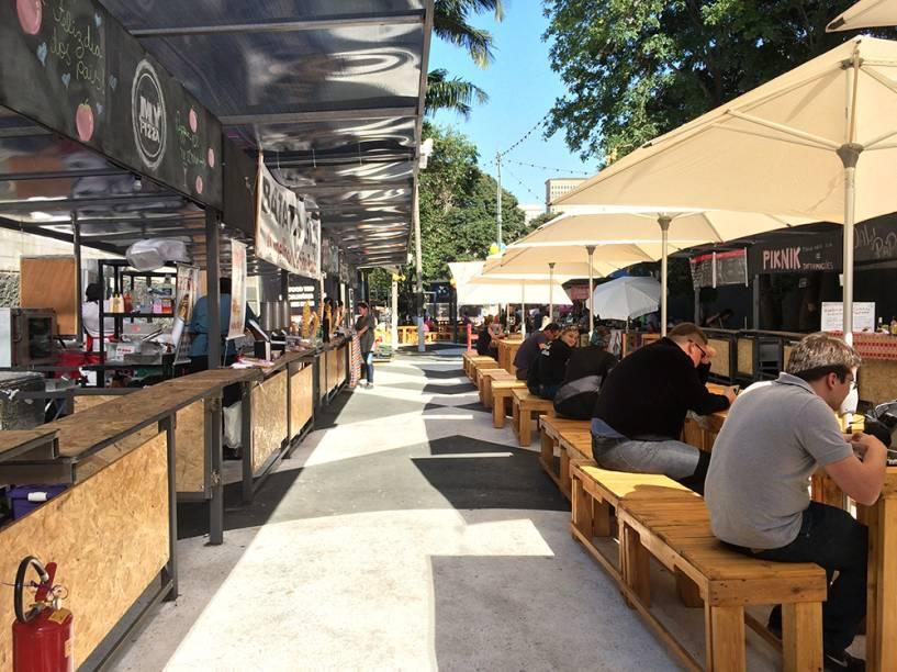 Piknik Faria Lima: novo food park em Pinheiros