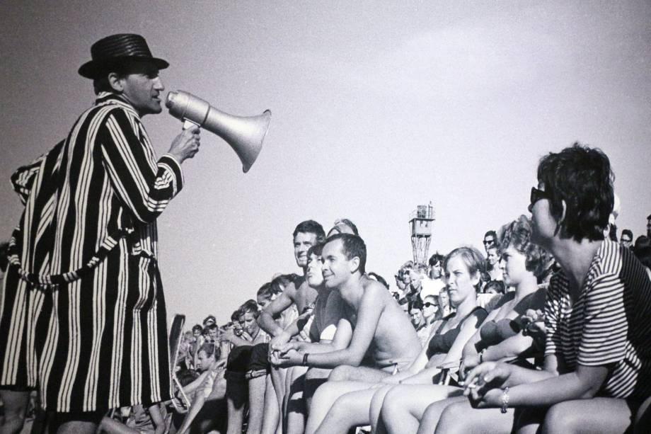 O polonês em performance de 1967: um maestro no mar