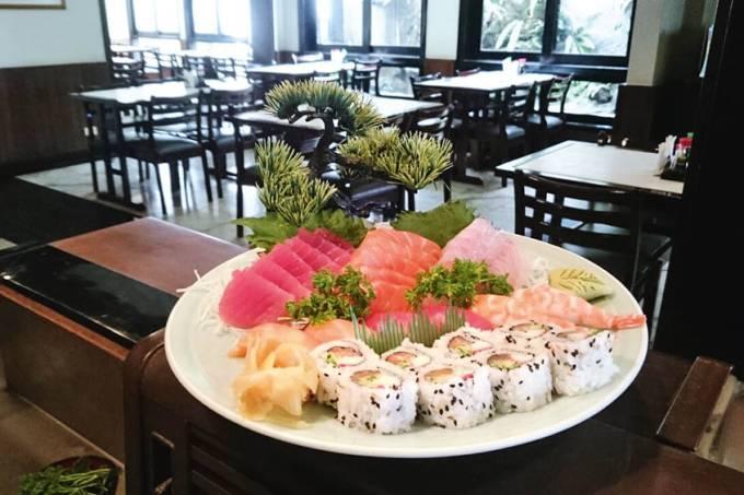 Sushi Kiyo – combinado de sushi e sashimi
