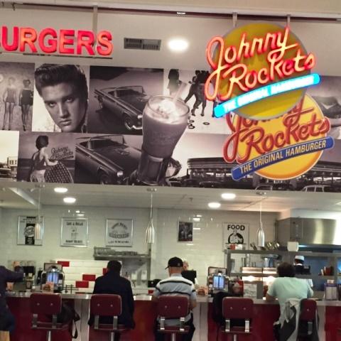 Johnny Rockets, no novo shopping Cidade São Paulo