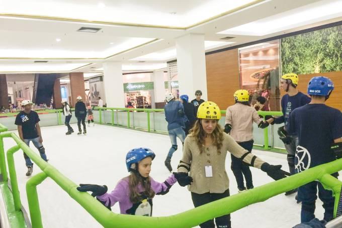 Pista de Patinação no Gelo – Market Place