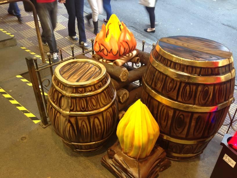 Porto das Festas e Fantasias: os barrís para uma decoração temática