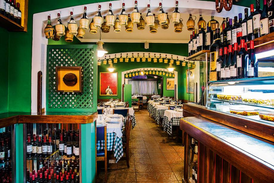 O salão do Jadim de Napoli: clássico