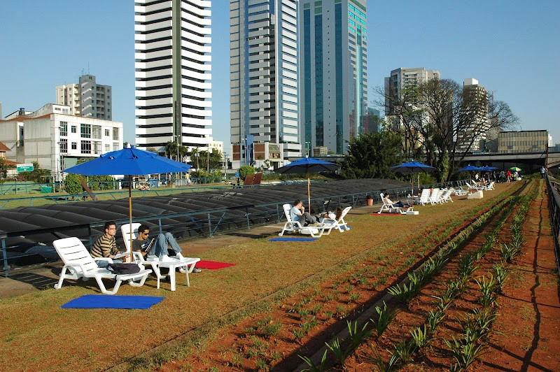 Jardim suspenso do CCSP