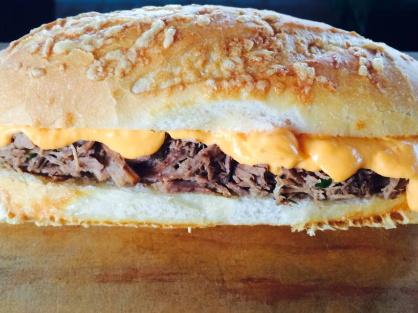 Lanche philly, do JK Gastronomia