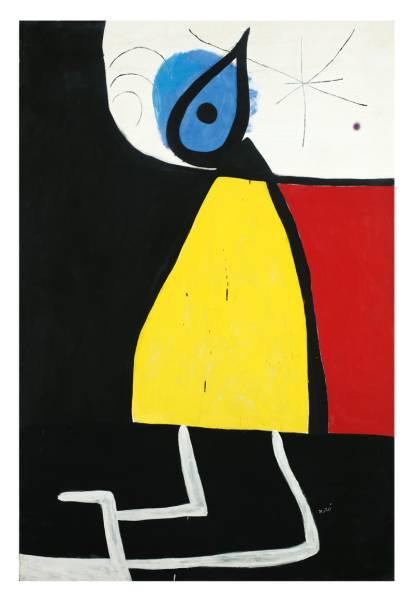 Esta é uma das 112 obras do espanhol exibidas no Instituto Tomie Ohtake