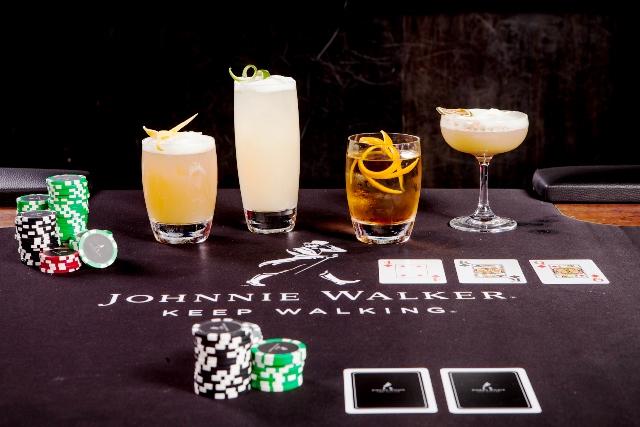 Pôquer com drinques