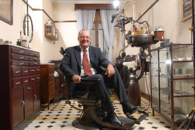José Roberto Pacheco, diretor de relações com investidores da Odontoprev, fotogr