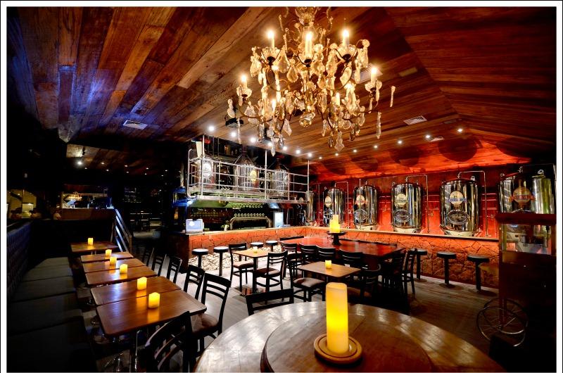 Salão da cervejaria