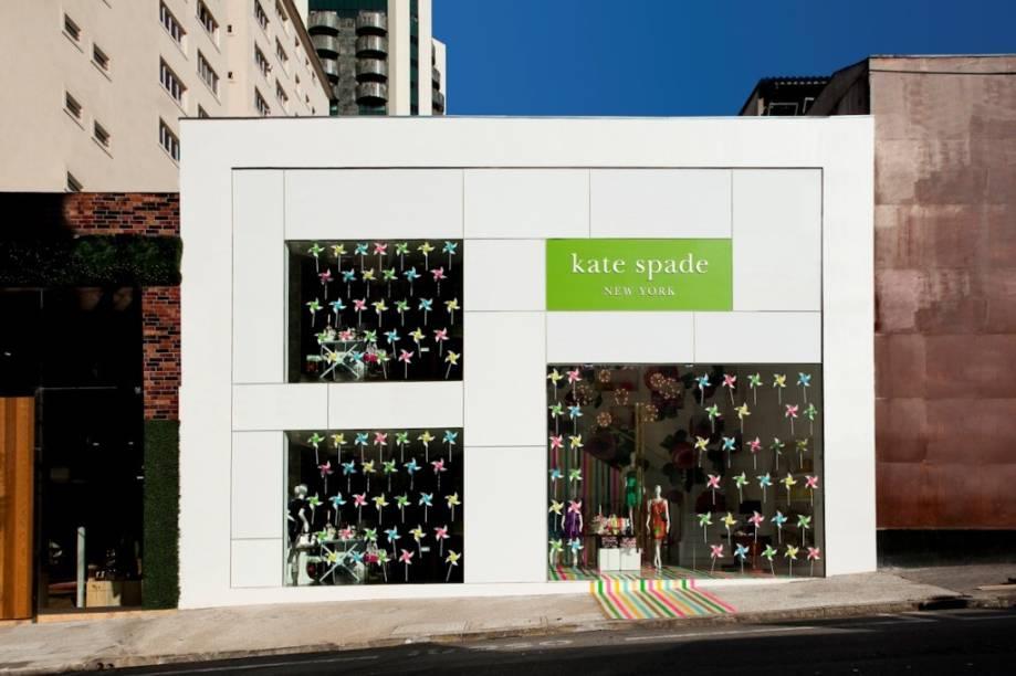 Kate Spade: primeira loja da marca no Brasil fica na Rua Bela Cintra