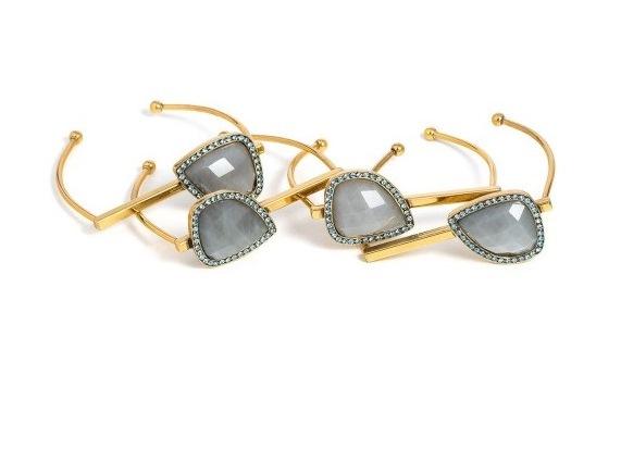 Conjunto com quatro pulseiras Camila Klein
