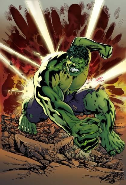 Ilustração para revista Mundo dos Super Heróis, de Klebs Junior