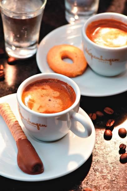 Kopenhagen: café expresso