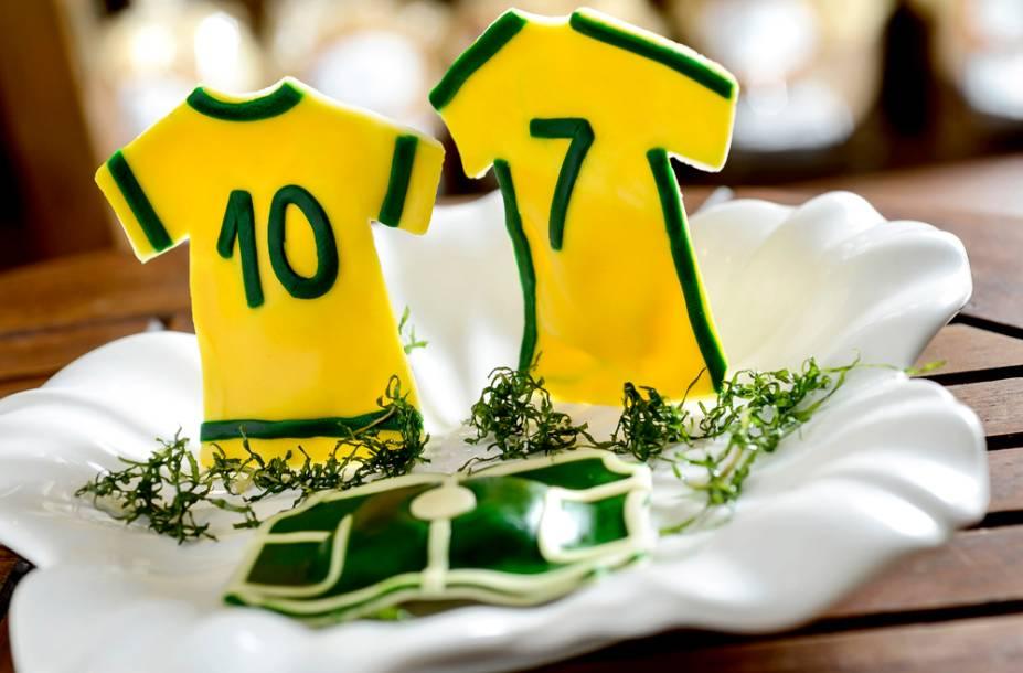 La Vera Pasta: ravióli em forma de camisa da seleção brasileira