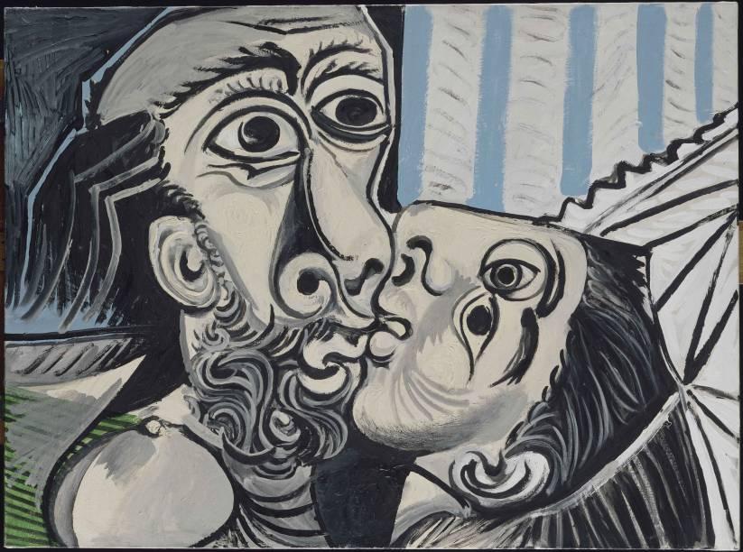 """""""O Beijo"""" é um dos destaques da mostra no Instituto Tomie Ohtake"""