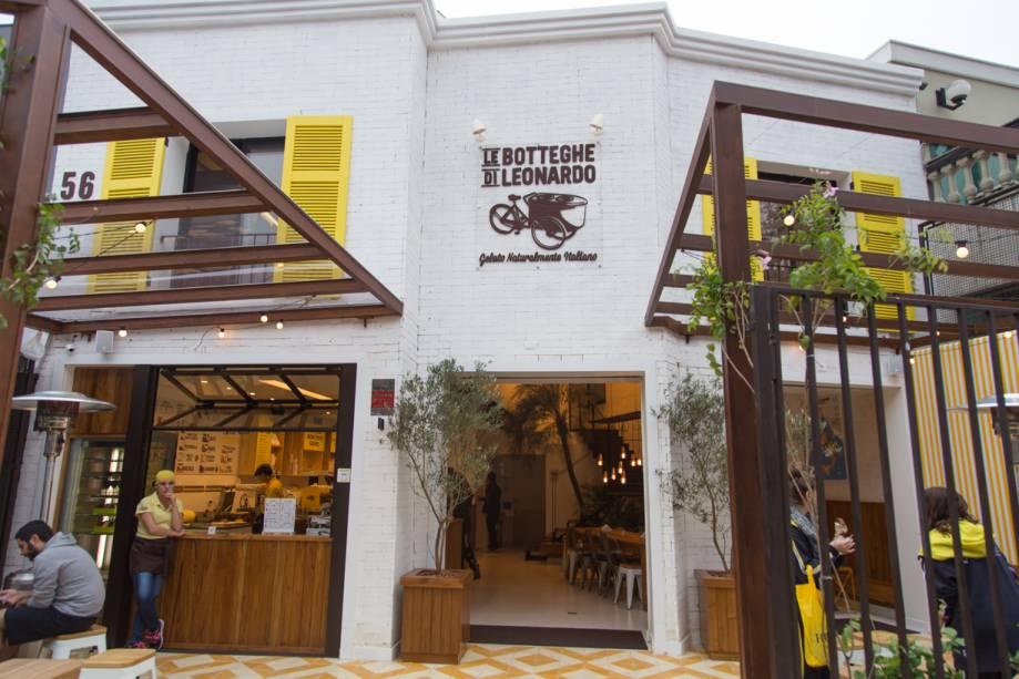 Le Botteghe Di Leonardo: nova loja ocupa uma casa na Praça Vilaboim