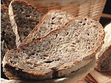 Pão de nozes orgânico