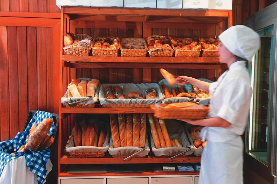 Le Vin Boulangerie, nos Jardins: pães artesanais sempre fresquinhos