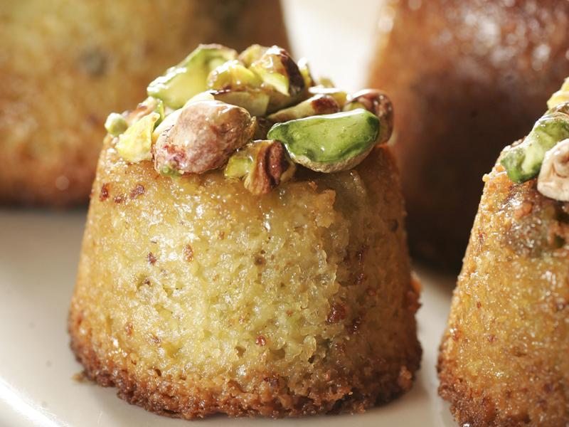 Le Pain Quotidien: a irresistível torta de pistache tem a textura de um bolo untuoso