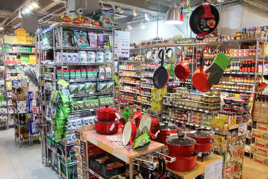 Liberdade: lojaAzuki-ya tem grãos orgânicos e itens de decoração