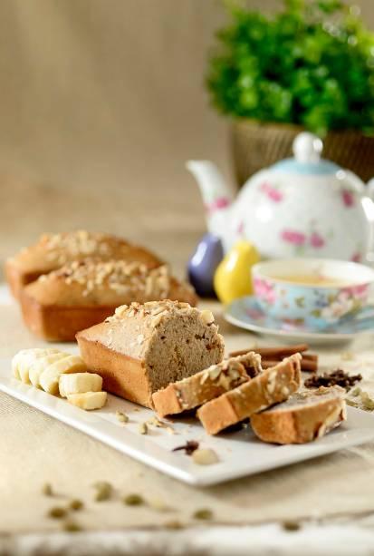 Lilóri: bolo de banana com especiarias