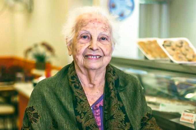 Lina Levi: a imigrante búlgara, morta no fim de 2018, trouxe a bureka para o Brasil em 1975
