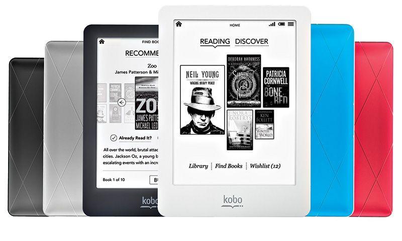 A rede está com preço especial para os e-readers da marca Kobo. A foto é do modelo Glo