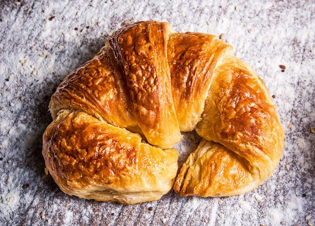 Croissant: amanteigado na medida