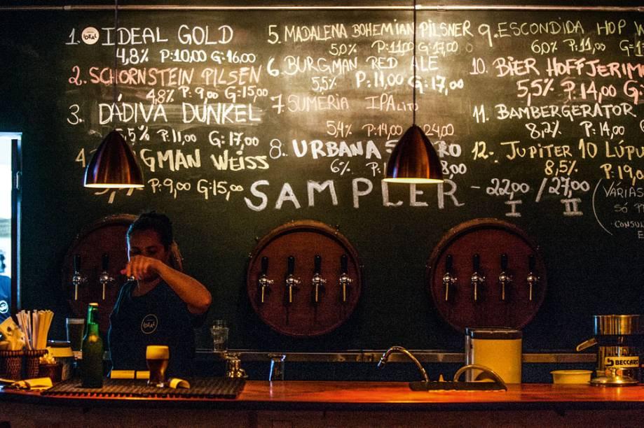 Melhor chope: doze torneiras jorram bebidas elaboradas por mais de trinta produtores nacionais