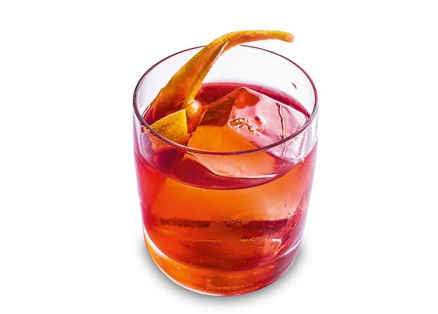 Simple man: bourbon, vinho marsala, Campari e Fernet