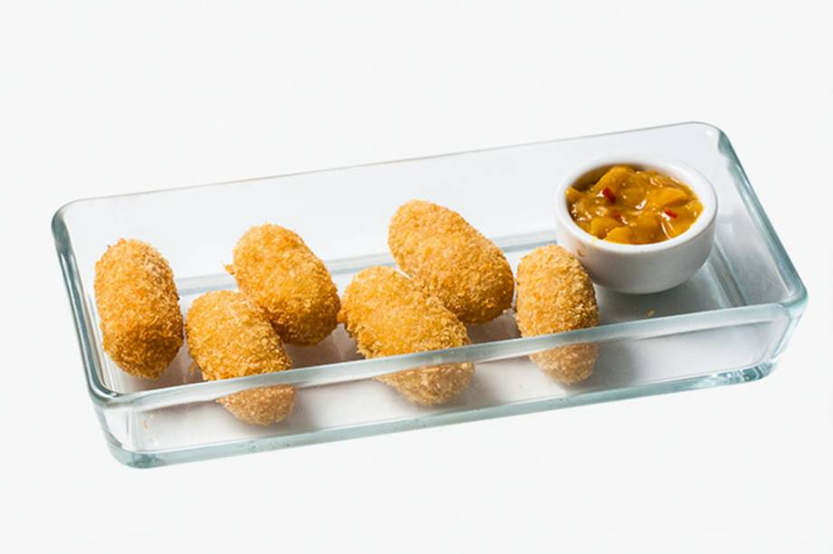 Crocantes: croquetes de queijo brie