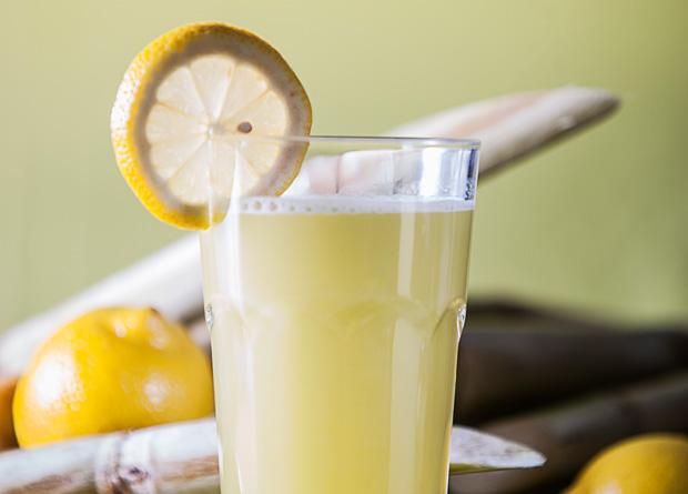 A garapa com limão-siciliano