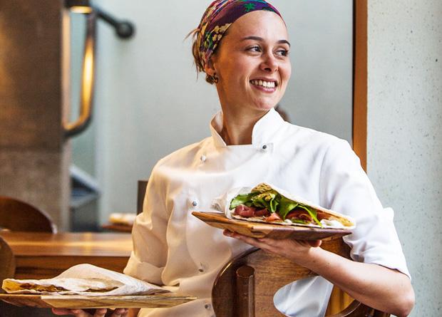 A chef Lais Duo: sucesso em mesclar a tradição italiana e toques irreverentes em suas receitas
