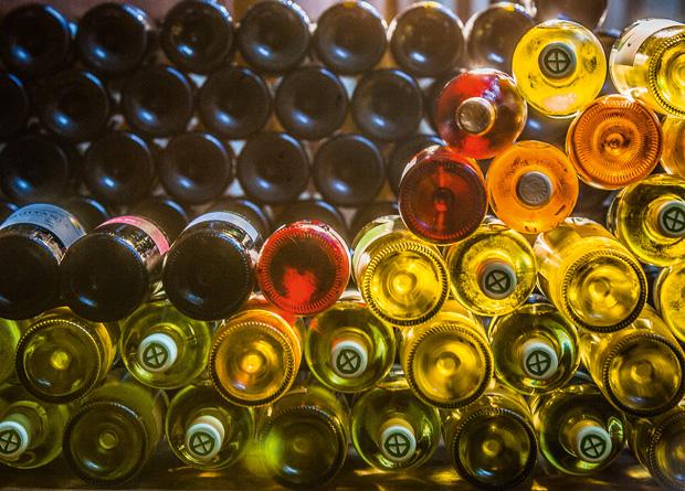 A seleção de vinhos do restaurante tem 400 rótulos de dezoito países