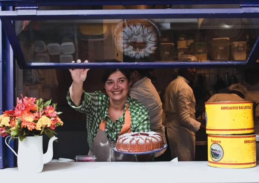 <span>Heloisa Bacellar, a responsável pelas comidinhas do Lá da Venda</span>