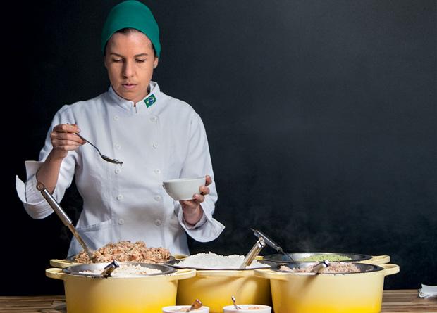 A chef Morena Leite: capricho nas receitas em dois endereços