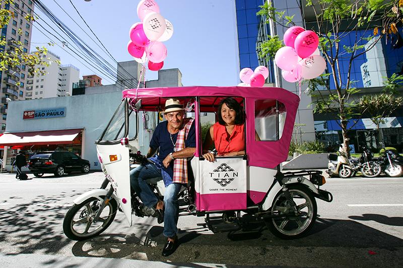 Cyro sá e Marina pipatpan: o carrinho colorido começa a circular na segunda (25)