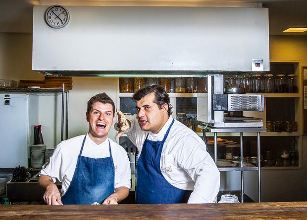 Tócchio e Espadana: homens de confiança do cozinheiro português