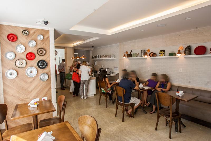 A nova loja, que antes só atendia sob encomenda, é comandada pela chef e sócia Daniela Aliperti