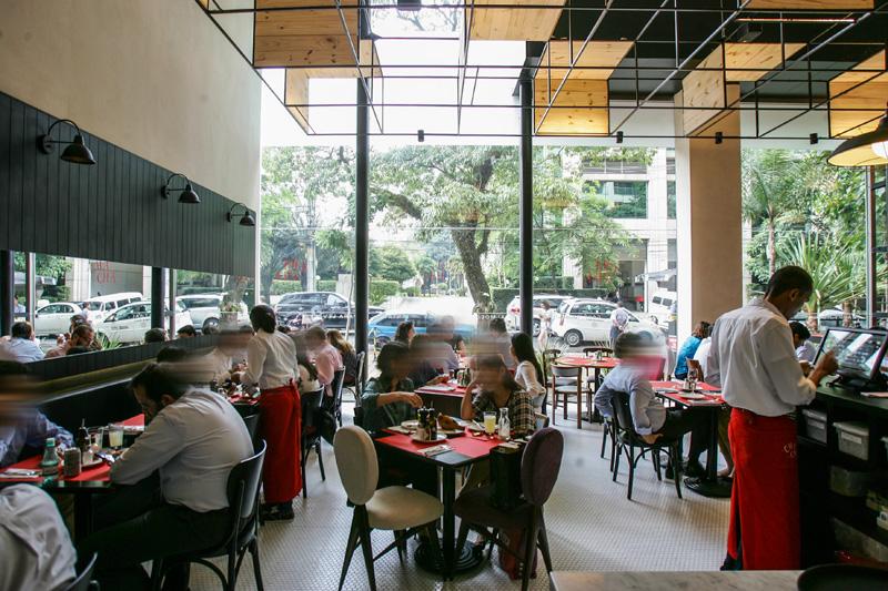 Junto com o sócio Felipe Sigrist, Charlô abriu mais este restaurante