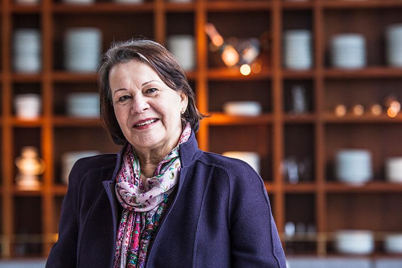 A restauratrice Ida Maria Frank está à frente também da terceira unidade da rede italiana