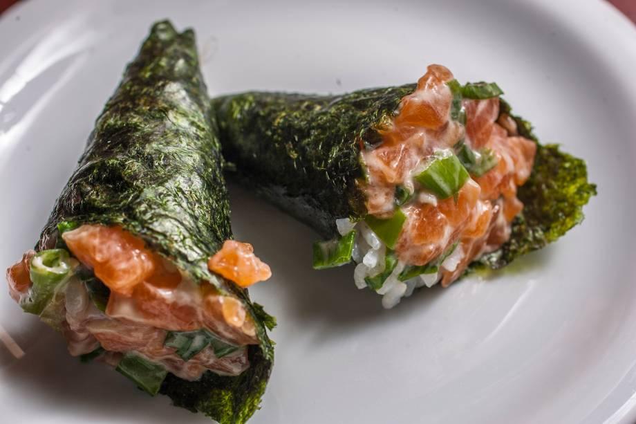 Temaki: comida japonesa também está no menu