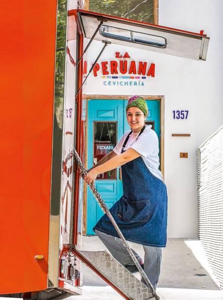 Melhor Food Truck: A peruana Marisabel serve pratos típicos do seu país