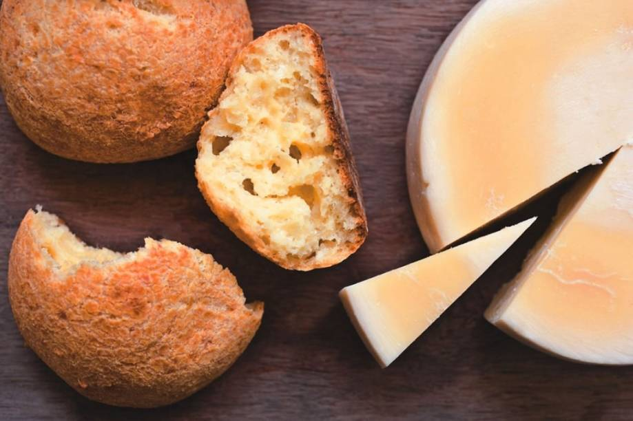 Queijo da Serra da Canastra é a matéria-prima do pão de queijo da casa