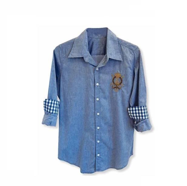 Camisa com Brasão