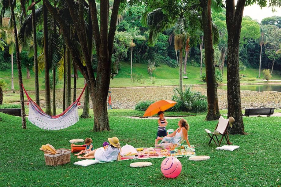 Jardim Botânico: um dos melhores locais para estender a toalha
