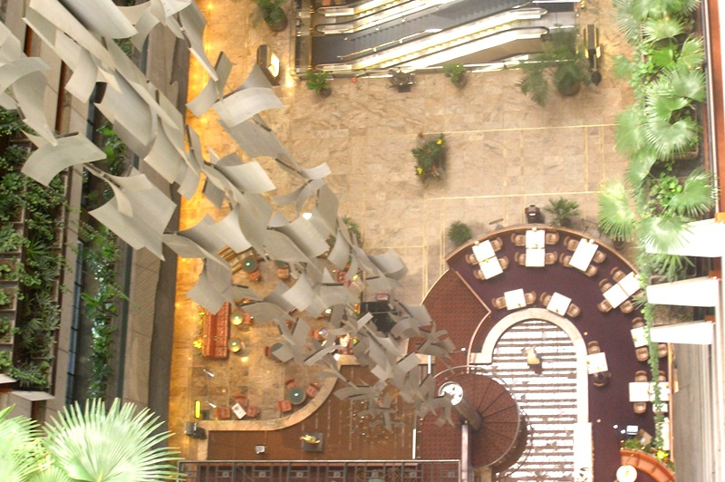 Lobby do Hotel Maksoud Plaza