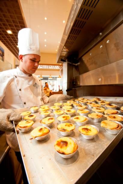 Manteigaria Lisboa: pastel de nata é a especialidade da casa